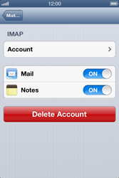 Apple iPhone 4 S - E-mail - Manual configuration - Step 15