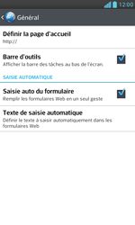 LG E975 Optimus G - Internet - configuration manuelle - Étape 26