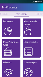 Huawei Y5 - Applications - MyProximus - Étape 12