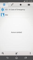 Sony Xperia Z3 Compact - Contact, Appels, SMS/MMS - Ajouter un contact - Étape 5