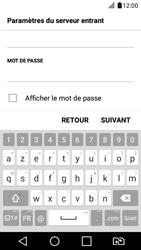 LG K4 2017 - E-mail - Configuration manuelle - Étape 12