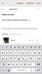 Samsung G925F Galaxy S6 Edge - E-mail - envoyer un e-mail - Étape 18