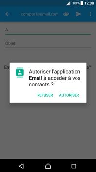 Sony Xperia Z5 Premium - Android Nougat - E-mail - envoyer un e-mail - Étape 4