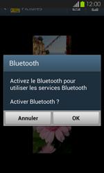 Samsung Galaxy S2 - Photos, vidéos, musique - Envoyer une photo via Bluetooth - Étape 12