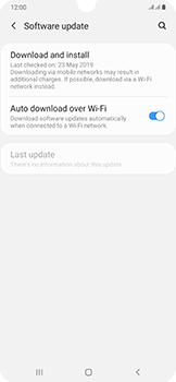 Samsung Galaxy A50 - Device - Software update - Step 6
