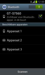 Samsung S7560 Galaxy Trend - Bluetooth - Aanzetten - Stap 6