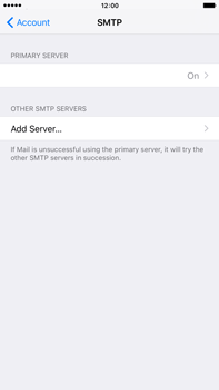 Apple iPhone 6 Plus iOS 9 - E-mail - Manual configuration - Step 20