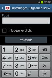 Samsung S6810P Galaxy Fame - E-mail - Handmatig instellen - Stap 16
