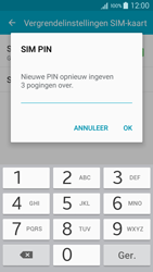 Samsung A500FU Galaxy A5 - Beveiliging en ouderlijk toezicht - Hoe wijzig ik mijn SIM PIN-code - Stap 9