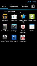 Acer Liquid Z5 - Applications - Downloading applications - Step 3