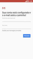 Motorola Moto C Plus - Email - Como configurar seu celular para receber e enviar e-mails - Etapa 11