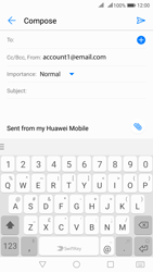 Huawei Nova 2 - Email - Sending an email message - Step 5