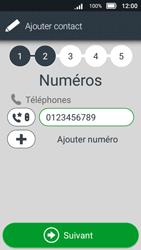 Doro 8031 - Contact, Appels, SMS/MMS - Ajouter un contact - Étape 11