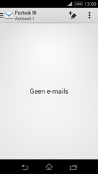 Sony Xperia E3 - E-mail - e-mail instellen: IMAP (aanbevolen) - Stap 4