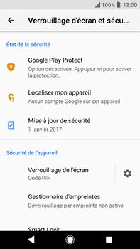 Sony Xperia XA2 Ultra - Sécuriser votre mobile - Activer le code de verrouillage - Étape 12