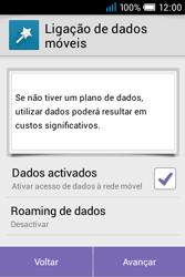 Alcatel POP C1 - Primeiros passos - Como ligar o telemóvel pela primeira vez -  7