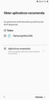 Samsung Galaxy J8 - Primeiros passos - Como ativar seu aparelho - Etapa 17