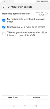 Huawei Mate 20 Pro - E-mail - 032b. Email wizard - Yahoo - Étape 7