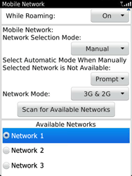 BlackBerry 9810 Torch - Network - Usage across the border - Step 8