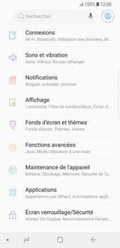 Samsung Galaxy S9 - Wi-Fi - Accéder au réseau Wi-Fi - Étape 4