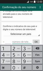 Samsung Galaxy Trend 2 Lite - Aplicações - Como configurar o WhatsApp -  6