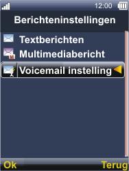 Sonim XP3300 Force - Voicemail - Handmatig instellen - Stap 5