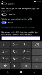 Microsoft Lumia 550 - SMS - configuration manuelle - Étape 7