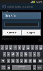 Samsung S7580 Galaxy Trend Plus - Mensajería - Configurar el equipo para mensajes multimedia - Paso 14