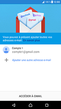 Sony Xperia XA1 Ultra - E-mails - Ajouter ou modifier votre compte Gmail - Étape 14