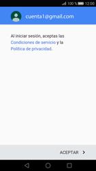Huawei P8 - E-mail - Configurar Gmail - Paso 13