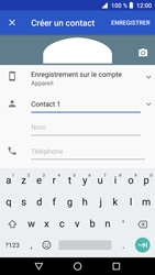 Crosscall Core X3 - Contact, Appels, SMS/MMS - Ajouter un contact - Étape 7