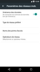 Motorola Moto E (1st Gen) (Lollipop) - Aller plus loin - Désactiver les données à l'étranger - Étape 6