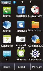 Samsung S5620 Monte - SMS - Configuration manuelle - Étape 3