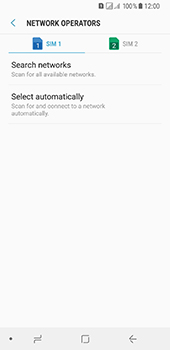 Samsung Galaxy A8 (2018) - Network - Manually select a network - Step 8