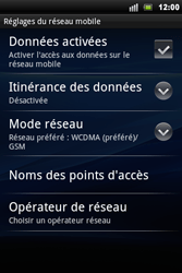 Sony Ericsson Xperia Mini Pro - Réseau - utilisation à l'étranger - Étape 9