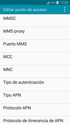 Samsung A500FU Galaxy A5 - Mensajería - Configurar el equipo para mensajes multimedia - Paso 12