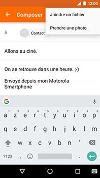 Motorola Moto E4 Plus - E-mails - Envoyer un e-mail - Étape 10