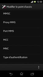 Sony C1905 Xperia M - MMS - Configuration manuelle - Étape 11