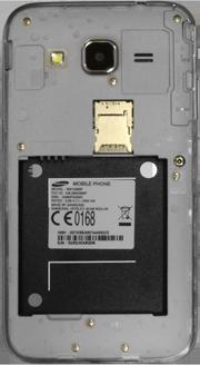 Samsung Galaxy Core Prime - Primeros pasos - Quitar y colocar la batería - Paso 3