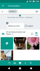 Sony Xperia XZ1 - Contact, Appels, SMS/MMS - Envoyer un MMS - Étape 12