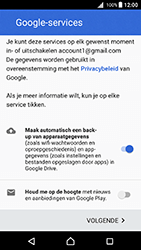 Sony Xperia X (F5121) - Android Nougat - Applicaties - Account aanmaken - Stap 17