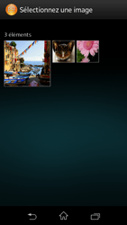 Sony C1905 Xperia M - MMS - envoi d'images - Étape 14