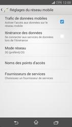 Sony Xpéria T3 - Internet et connexion - Activer la 4G - Étape 6
