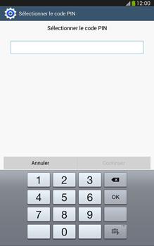 Samsung Galaxy Tab 3 8 4G - Sécuriser votre mobile - Activer le code de verrouillage - Étape 8