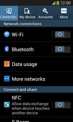 Samsung Galaxy Core Plus - WiFi and Bluetooth - Setup Bluetooth Pairing - Step 4