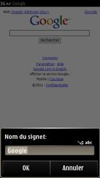 Nokia E7-00 - Internet - Navigation sur Internet - Étape 5