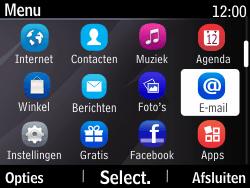Nokia Asha 210 - E-mail - Handmatig instellen - Stap 3