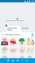 Nokia 3 - MMS - Sending a picture message - Step 13
