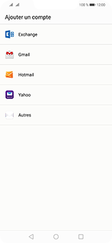 Huawei Mate 20 Lite - E-mail - 032c. Email wizard - Outlook - Étape 4