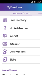 Huawei Ascend Y550 - Applications - MyProximus - Step 23